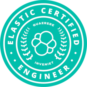 Elasticsearch Certification Badge